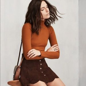 ISO Reformation Rye Turtleneck, Small